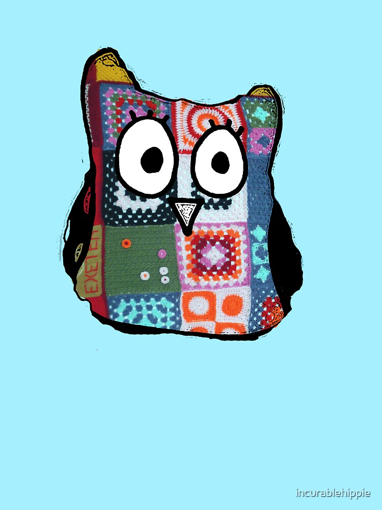 Patchwork Owl by incurablehippie