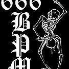 666 BPM 2 - Sticker by Imago-Mortis