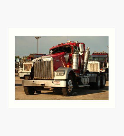 Truck 7941 Art Print
