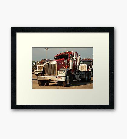Truck 7941 Framed Print