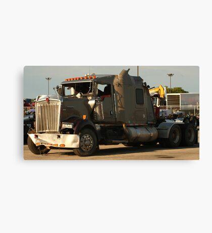 Truck 7942 Green Canvas Print