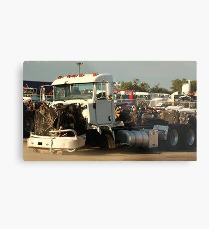 Truck 7946 White Metal Print