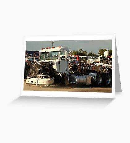 Truck 7946 White Greeting Card