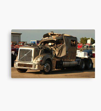 Truck 7949 Green Canvas Print