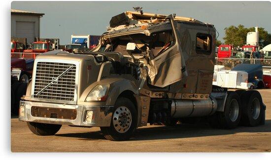 Truck 7949 Green by Thomas Murphy