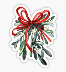 Branch of mistletoe Sticker