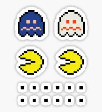 Pac­-Man ×2 + Disabled Ghosts­ + Extra Dots­ Sticker
