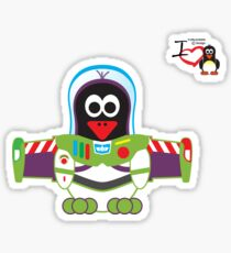 Hero/Icon Penguin - Buzz Lightyear Sticker