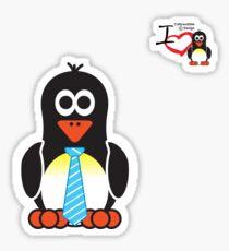 Bathroom Penguin - Gents Sticker