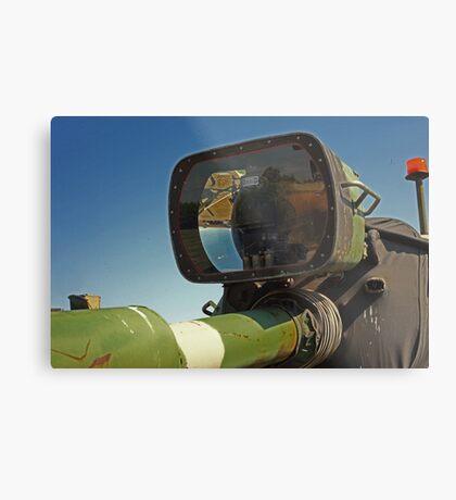 Barrel mounted M-60 Tank Light Metal Print