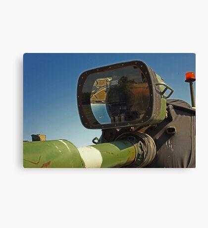 Barrel mounted M-60 Tank Light Canvas Print