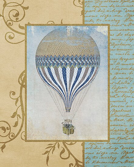 Hot Air Balloon 4 by Norella Angelique