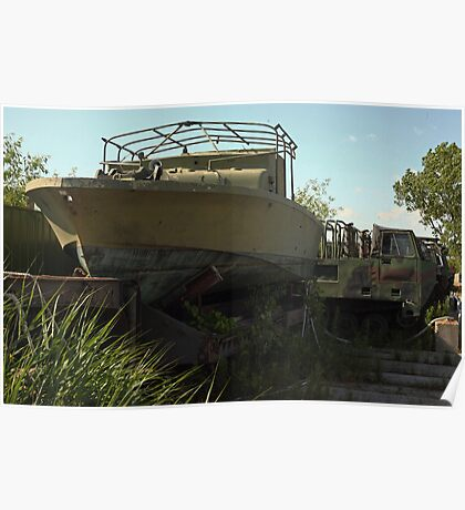 Military Boat 7870 Poster