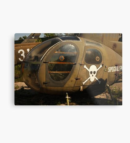 Helicopter Image 7884 Metal Print