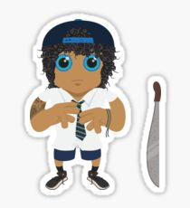 Jonah - Holy Cross (Jonah From Tonga) Sticker