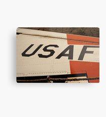 USAF Logo on Wing Metal Print