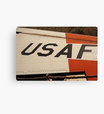 USAF Logo on Wing Canvas Print