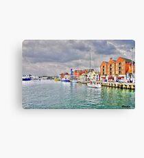 Poole Quay Canvas Print