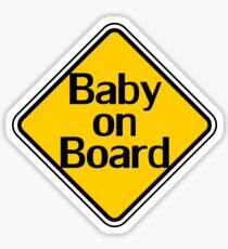 Baby on Board Sticker Pregnancy T-Shirt Top Clothing Sticker