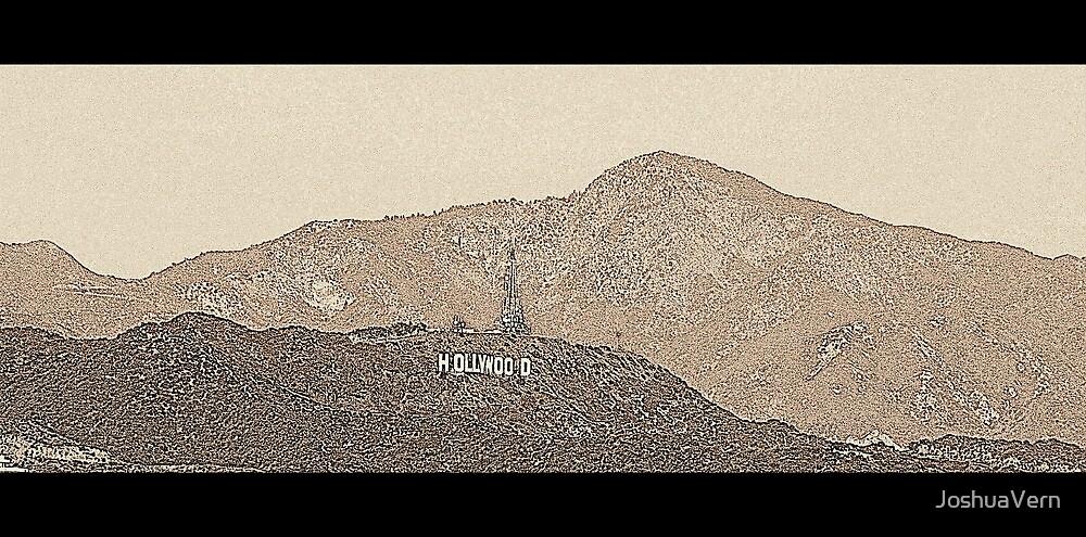 Hollywood Sign (v. 2 edit) by JoshuaVern