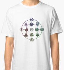 Avatar The Last Airbender; Forms of Bending Classic T-Shirt