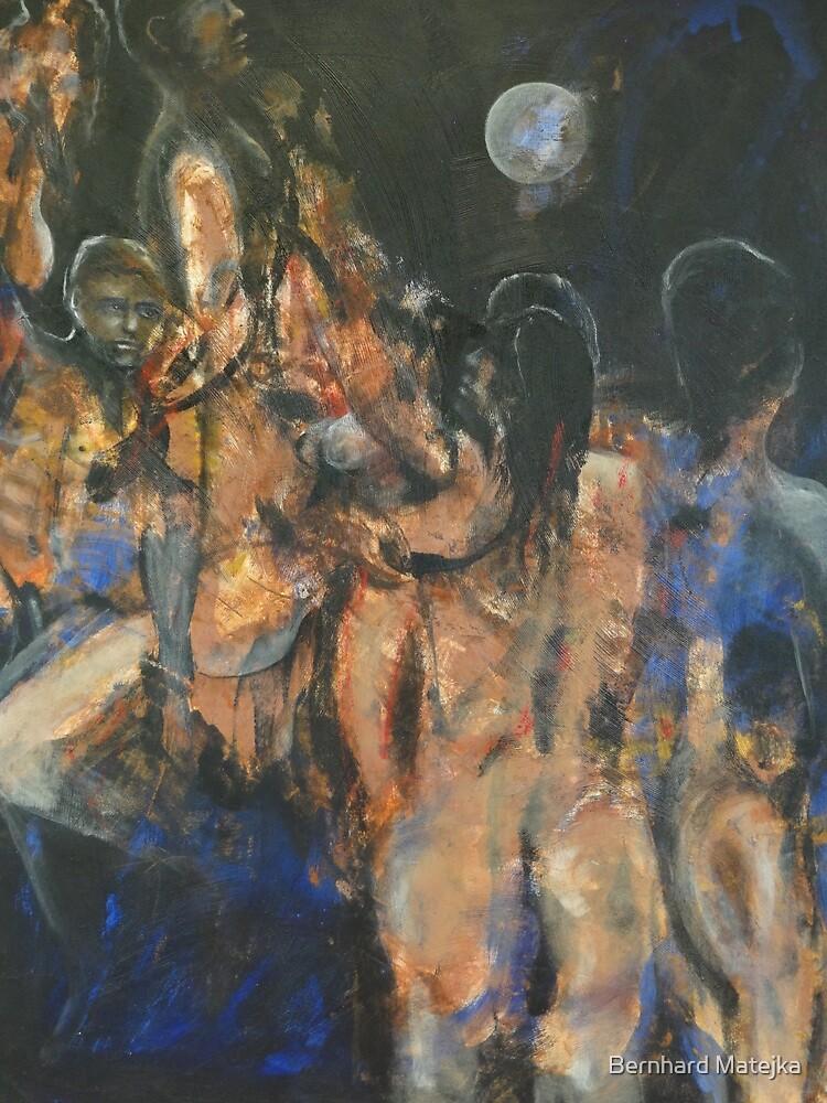 Painting Two - Pintura Dos by Bernhard Matejka