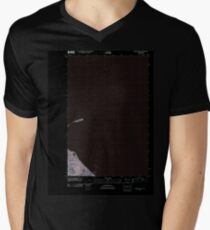 USGS Topo Map Washington State WA Dungeness OE E 20110419 TM Inverted Men's V-Neck T-Shirt