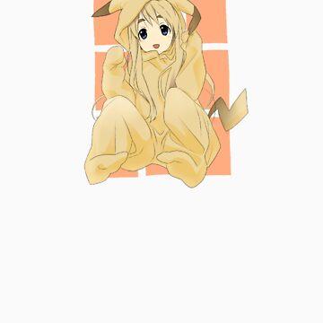 Tsumugi is Pikachu! by tyko2000
