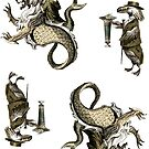 The Isidore Tarot Mini-Stickers  by TheIsidoreTarot