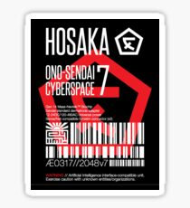 Hosaka Ono-Sendai Cyberspace 7 Label - Prints/Sticker only Sticker