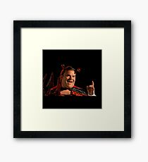 goosebumps movie characters Framed Print