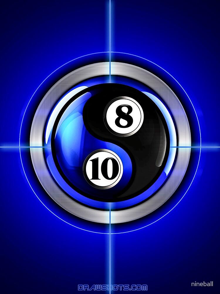 8 and 10 yin and yang by nineball