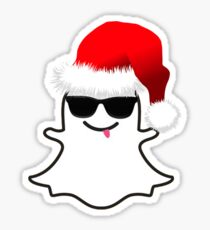 """""""Snapchat"""" Christmas Sticker"""