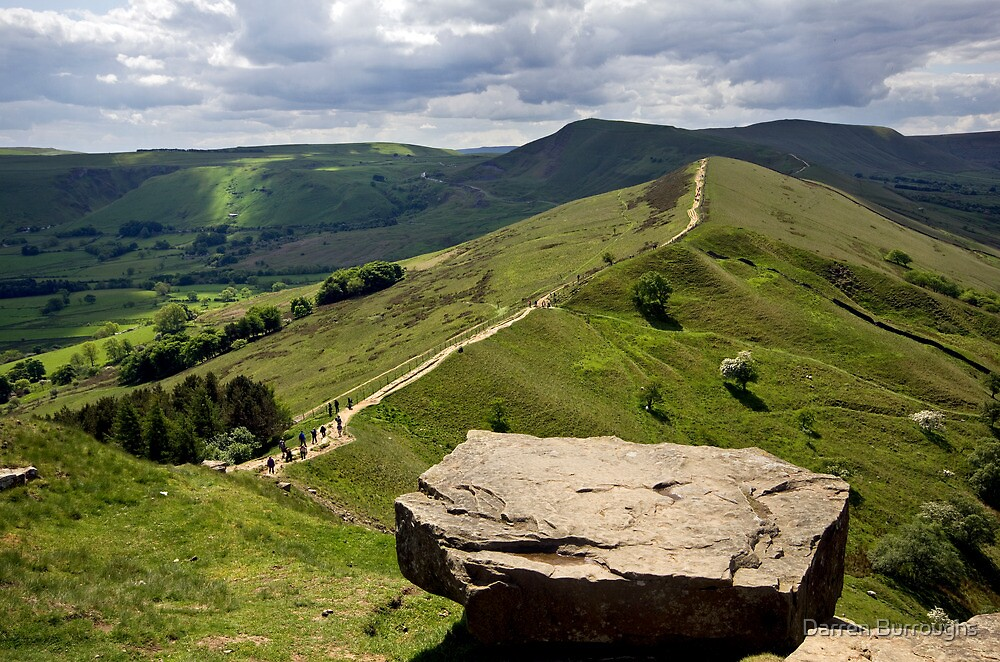 Back Tor Derbyshire by Darren Burroughs