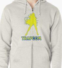 Trapcom Zipped Hoodie