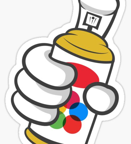Good Gloves • Graffiti Sticker