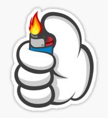 Good Gloves • Lighter Sticker