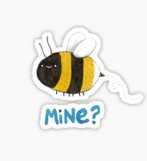 Bee Mine Sticker