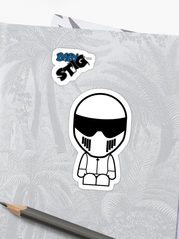 The Stig - Baby Stig | Stickers