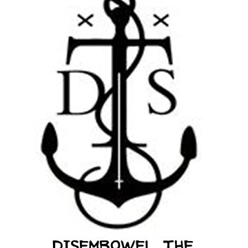 Disembowel The Sea Monster Tee 1 by HumorlessMilk