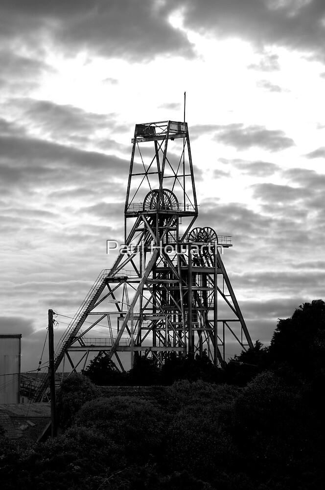 South Crofty Tin Mine by Paul Howarth
