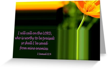 I Will Call on the Lord by aprilann