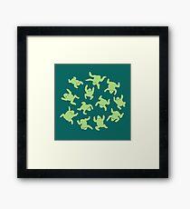 Froglets Framed Print