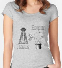 Tesla superiority Women's Fitted Scoop T-Shirt