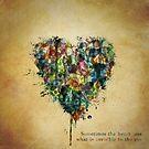 Watercolour Heart by YingDude