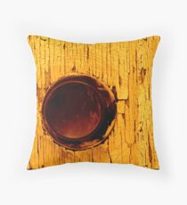 The Yellow Philosophie Throw Pillow