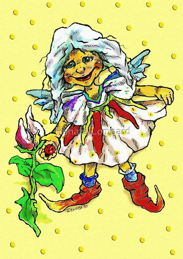 Rosie Fairy by Renata Lombard