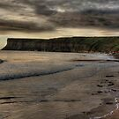 """Early morning at Saltburn Bay""  by Bradley Shawn  Rabon"