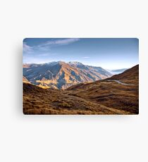 The View from Crown Peak Canvas Print