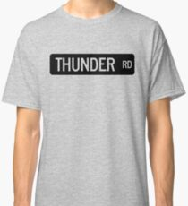 Thunder Road street sign Classic T-Shirt